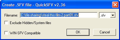 Uploading Step 2: SFV File - File Sharing Tutorial - Harley