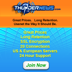 Harley recommends ThunderNews Usenet. Join Now.
